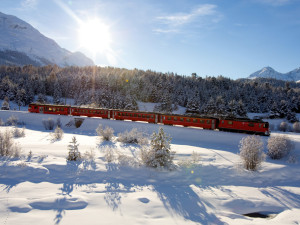 THE BERNINA RED TRAIN