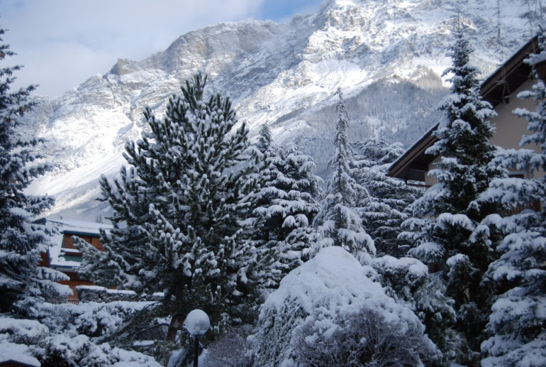 Christmas and New Year in the Alps