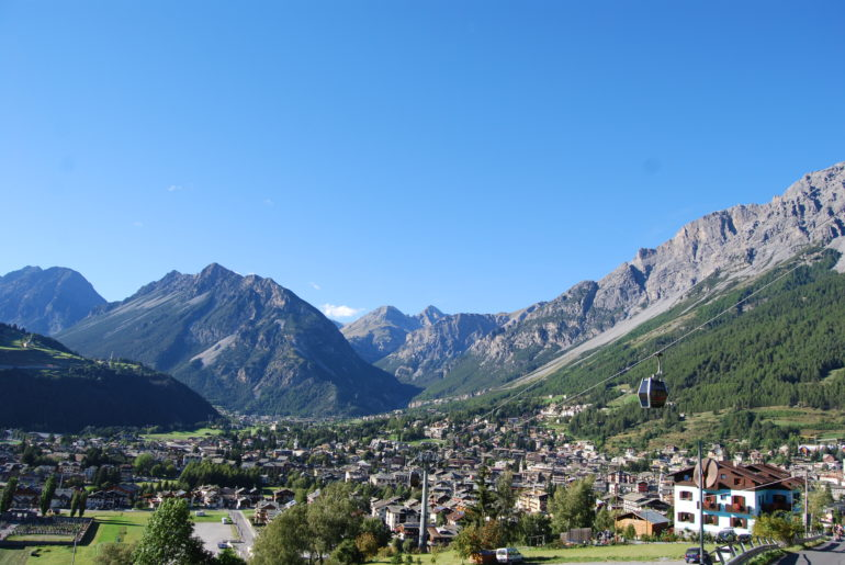 JULY ON THE ALPS