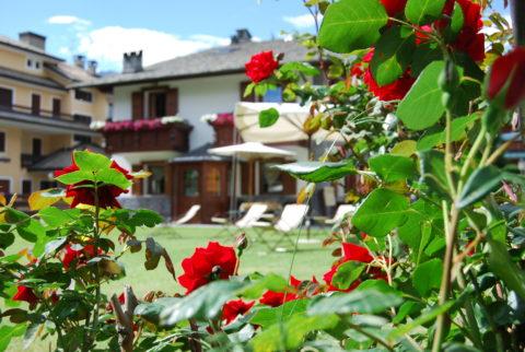 Appartamenti Bormio con giardino