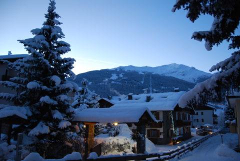 Chalet in den Bergen