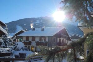 Шале в Альпах Италии