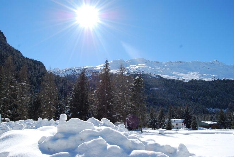 Escursioni con le ciaspole in Alta Valtellina